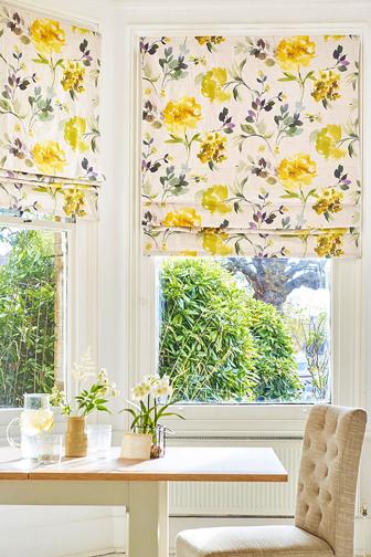 colorful interior curtains